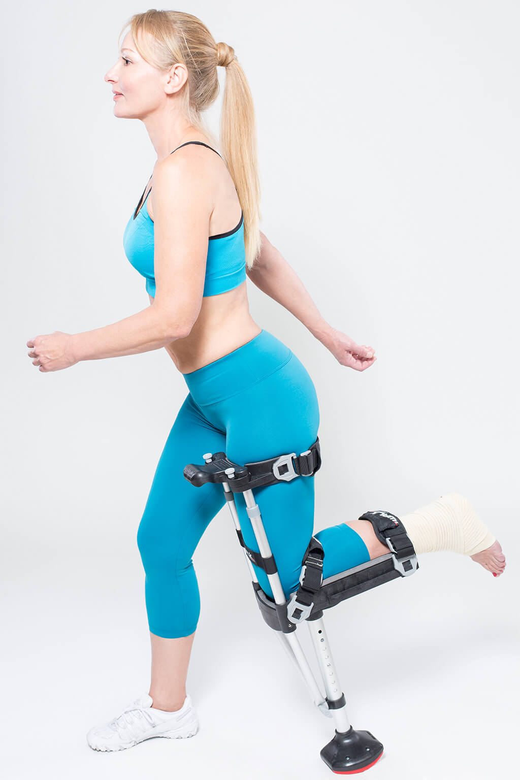Exercise is fine with this hands-free crutch