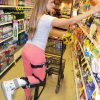 Move over knee scooters, you can shop with ease with iWALK 2.0